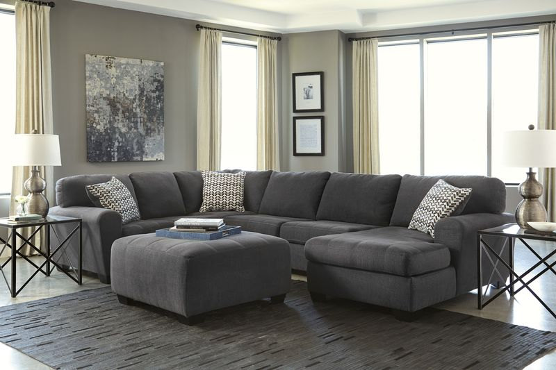 Sorenton Sectional Sofa Set with RAF Chaise