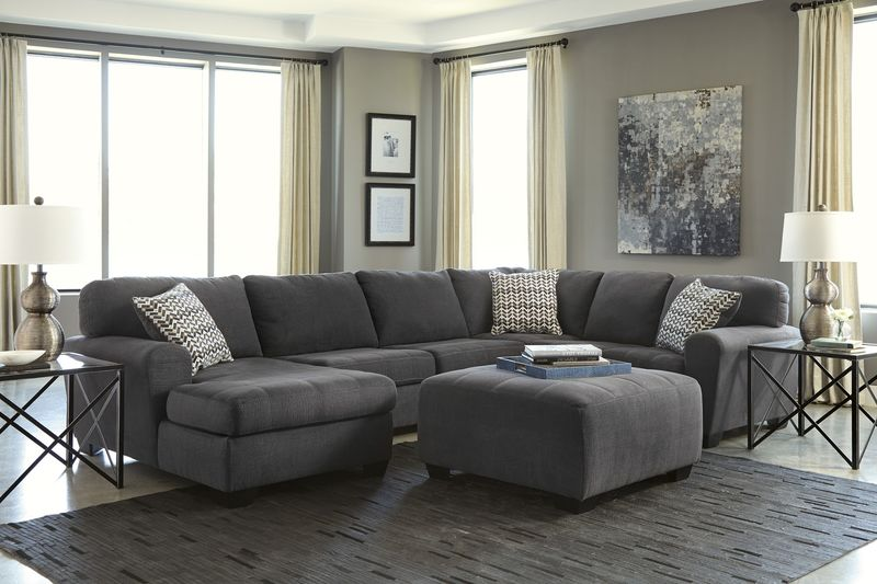 Sorenton Sectional Sofa Set with LAF Chaise