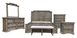 Westgate Rustic Bedroom Set