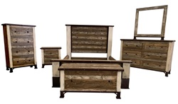 Amarillo Rustic Bedroom Set