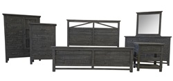 Spencer Rustic Bedroom Set