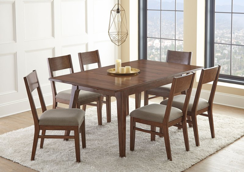 Steve Silver | AE500 Adeline Casual Dining Table Set | Dallas Designer  Furniture