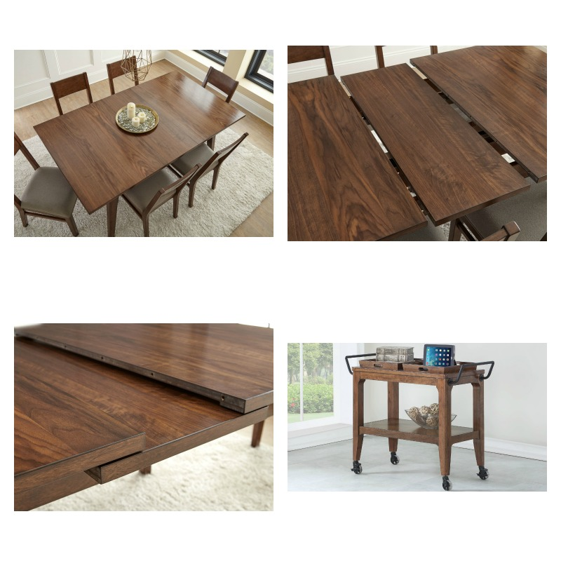 Casual Dining Room Set: AE500 Adeline Casual Dining Table Set