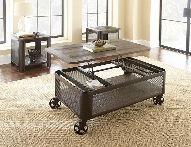 Barrow Lift-Up Coffee Table Set