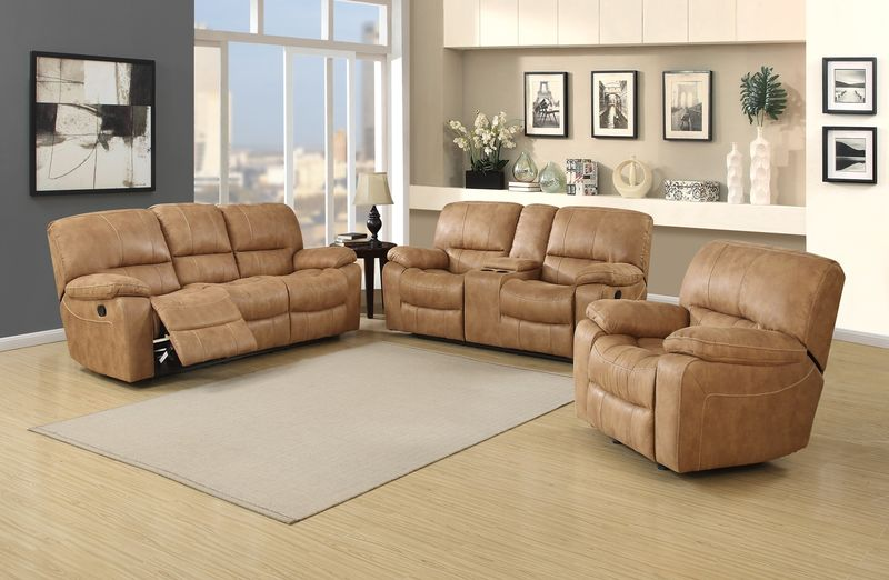 Saddleback Reclining Living Room Set