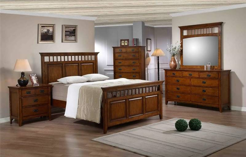 Trudy Mission Inspired Bedroom Set