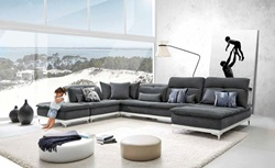 David Ferarri Horizon Grey Sectional