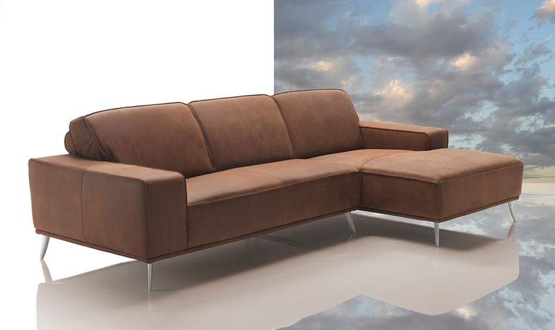 Dima Elite Modern Africa Leather Sectional