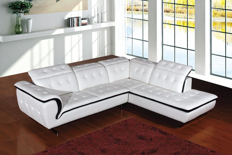 Divani Casa Modern Leather Sectional
