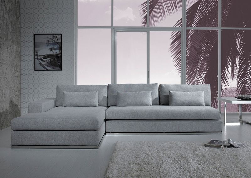 Divani Casa Ashfield Modern Sectional Sofa