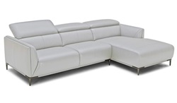 Divani Casa Belfast Modern Grey Sectional Sofa