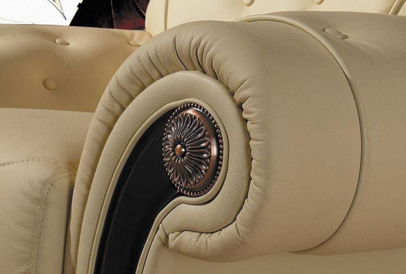 Divani Casa Cleopatra Leather Sofa Set