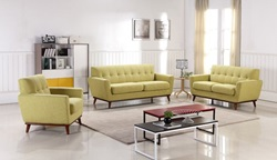 Divani Casa Corsair Timeless Ginger Sofa Set