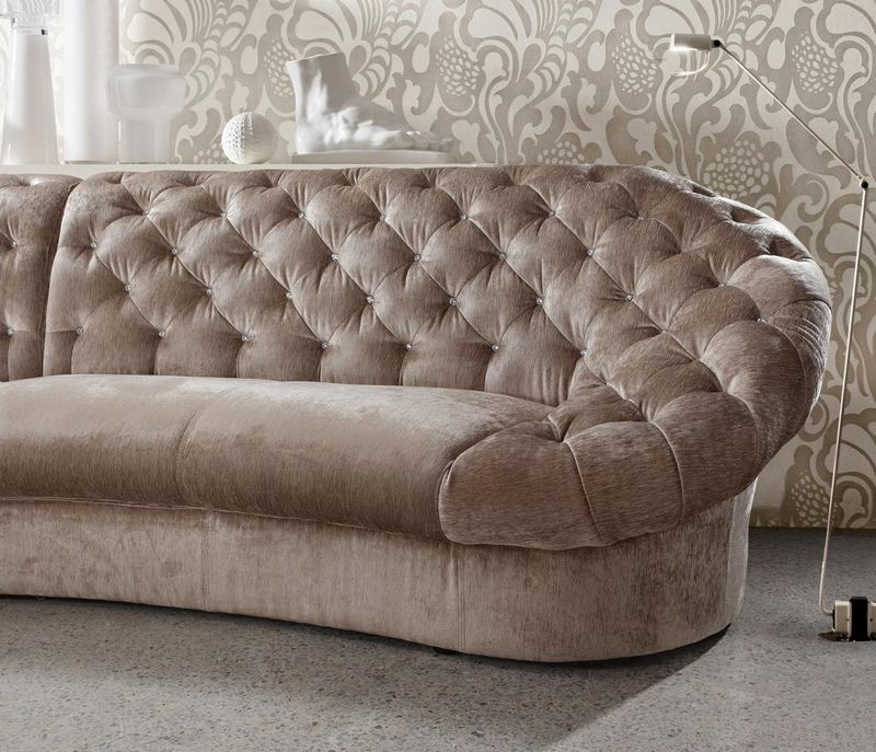 ... Divani Casa Cosmopolitan Beige Living Room Set