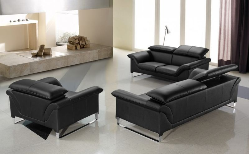 Divani Casa Elite Modern Leather Sofa Set