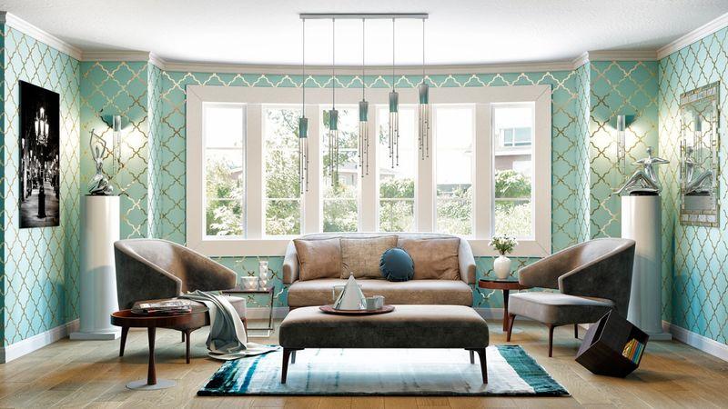 Divani Casa Hayden Grey Sofa Set