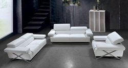 Divani Casa Linx Modern Leather Sofa Set
