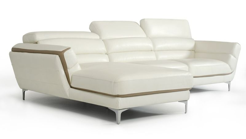 Divani Casa Longford Modern Sectional Sofa