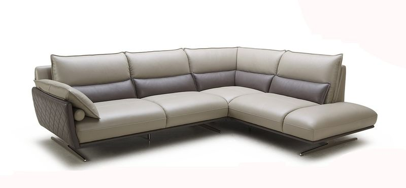Divani Casa Marigold Leather Sectional