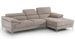 Divani Casa Marion Modern Grey Sectional Sofa