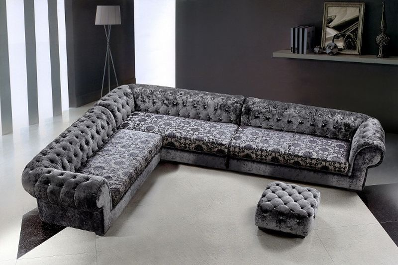 Divani Casa Metropolitan Sectional with Ottoman