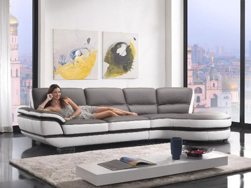 Divani Casa Rapture Modern Sectional