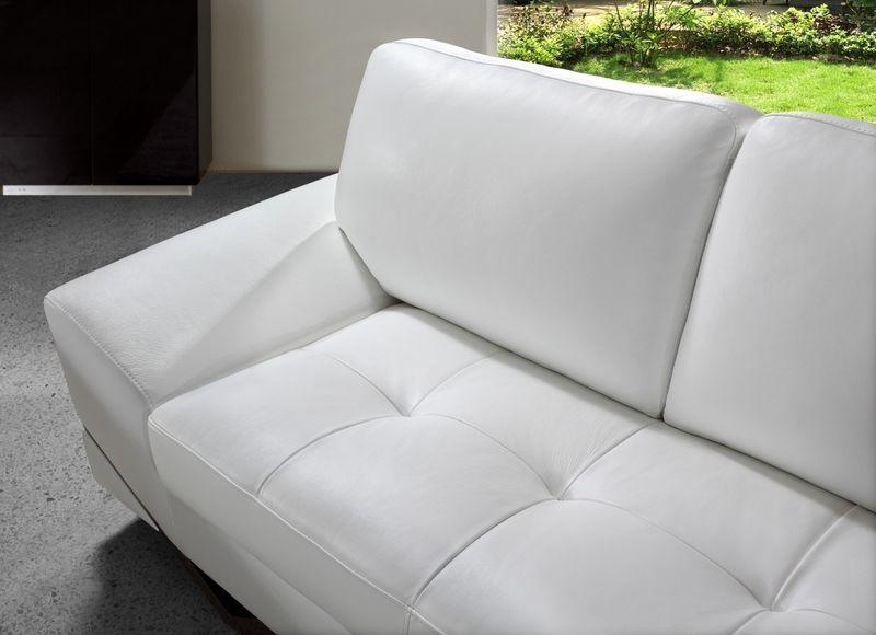Divani Casa Vanity Modern White Sofa Set