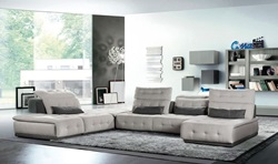 David Ferrari Daiquiri Italian Modern Grey Modular Sectional