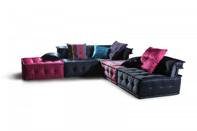 Versus Chloe Modern Fabric Sectional