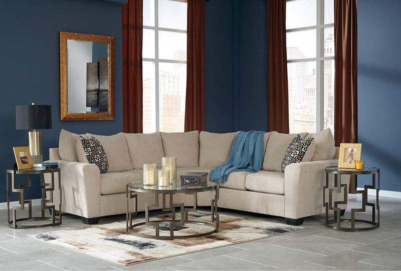 Wixon Sectional Sofa in Putty