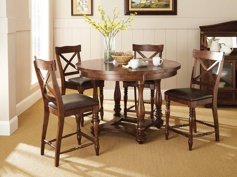 Wyndham Round Pub Table Set