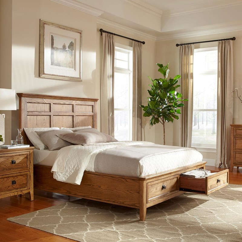 Alta Bedroom Set with Storage Bed